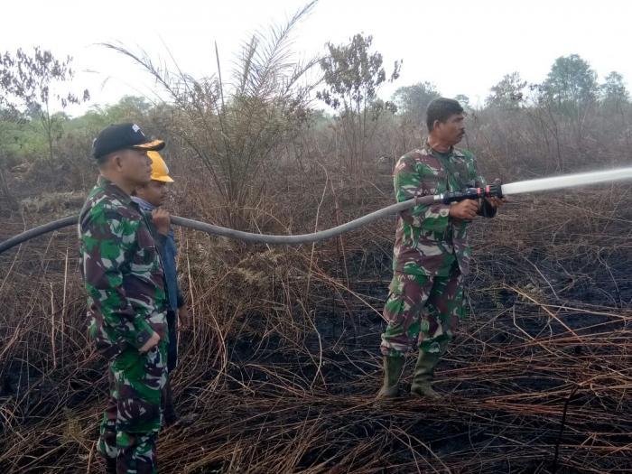 Dalam Sepekan, 31 Hektar Lahan Gambut Terbakar | Kodim-0320-Dumai,Pemko-Dumai,Masyarakat-Kota-Dumai,Karhutla,Dumai-Riau