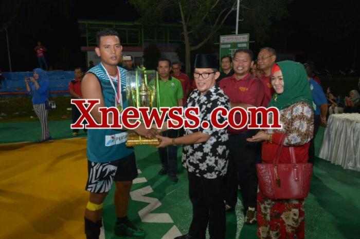 Dumai Juara Open Turnamen Voli antar Kabupaten/kota | Pemko-Dumai,-Olahraga