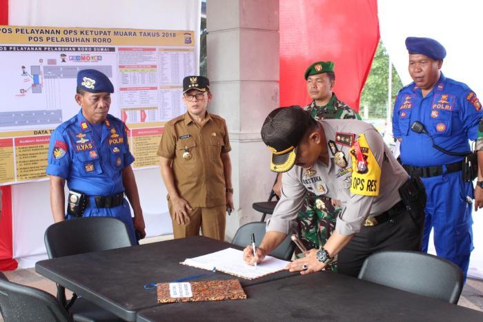 Walikota Kunjungi Posko Operasi Ketupat Muara Takus 2018 | Pemko-Dumai,Masyarakat-Kota-Dumai,Polres-Dumai,Ramadhan-1439-H,Ops-Ketupat-Muara-Takus-2018,,Dumai-Riau