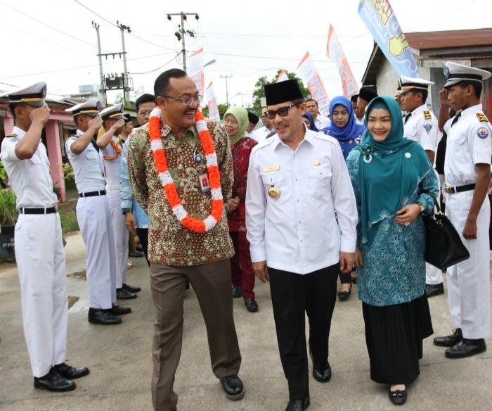 Tim Penilai Nasional Verifikasi Lapangan Kampung KB Keberkahan Bersama |