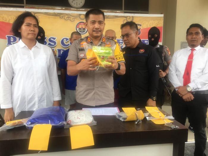 Bawa 1 Kg Sabu, Dua Warga Bengkalis Dibekuk Polisi | Polres-Dumai,Sabu-sabu