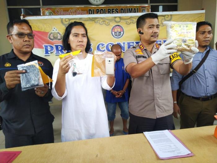 Edarkan 1 Kg Sabu, Seorang Pria Diciduk Polisi | Hukrim,Sabu-sabu,Polres-Dumai