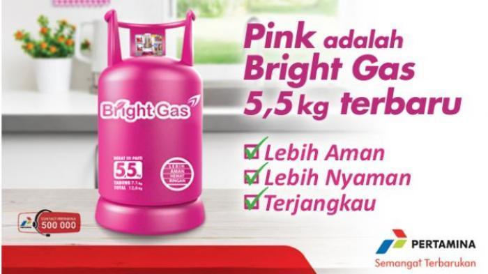 Bright Gas Lebih Irit dan Aman |