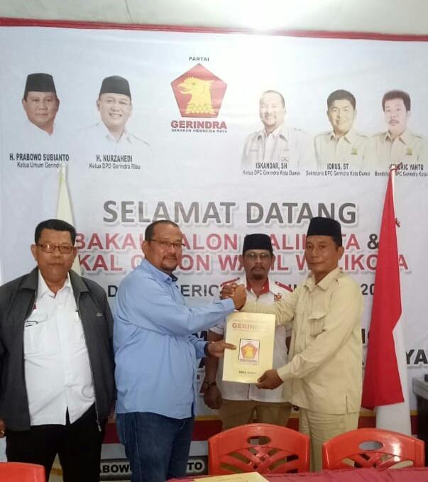 Pak RT Maju Calon Wakil Walikota Dumai, Izudin : Gaji RT Setara UMK   Pilkada